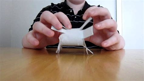 How To Make Toys Out Of Paper - how to make a rabbit out of toilet paper and timothy