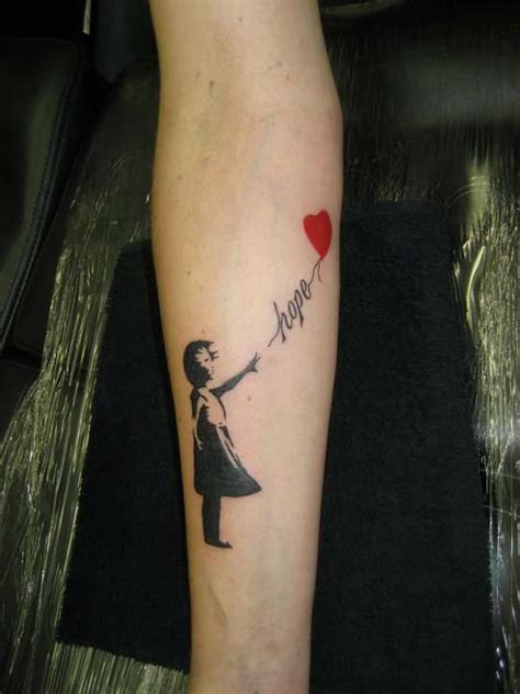 banksy tattoo my banksy