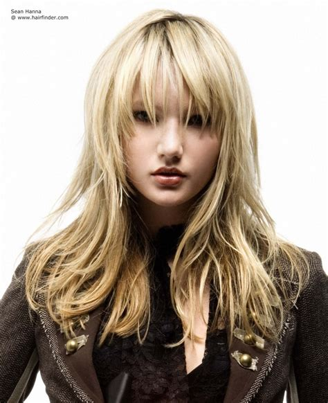 long textured layers long straight haircut with textured tips layers and