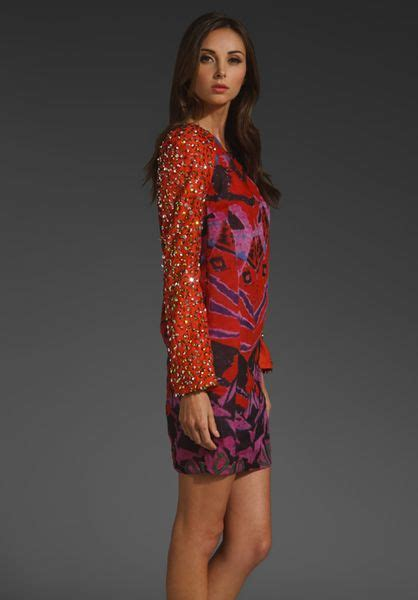 Sherly Mini Dress Batik By antik batik opyla mini dress in multicolor lyst