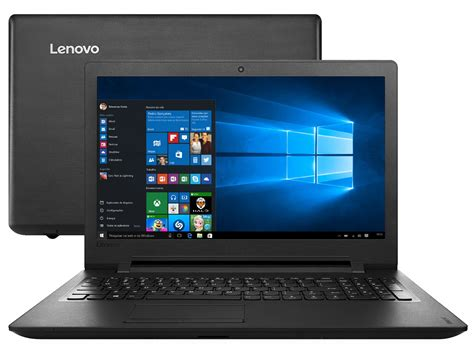 Laptop Lenovo Ideapad 110 notebook lenovo ideapad 110 intel dual 4gb 1tb led 15 6 windows 10 notebook magazine