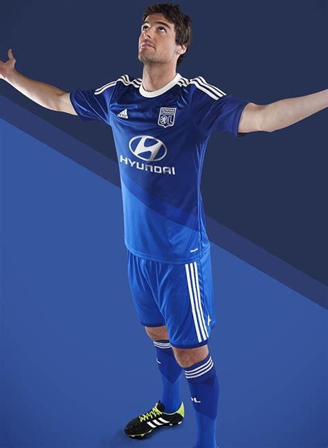 Jersey Go Lyon Away 2nd new blue lyon away kit 2014 15 and ol third jersey 2014 2015 adidas football kit news new