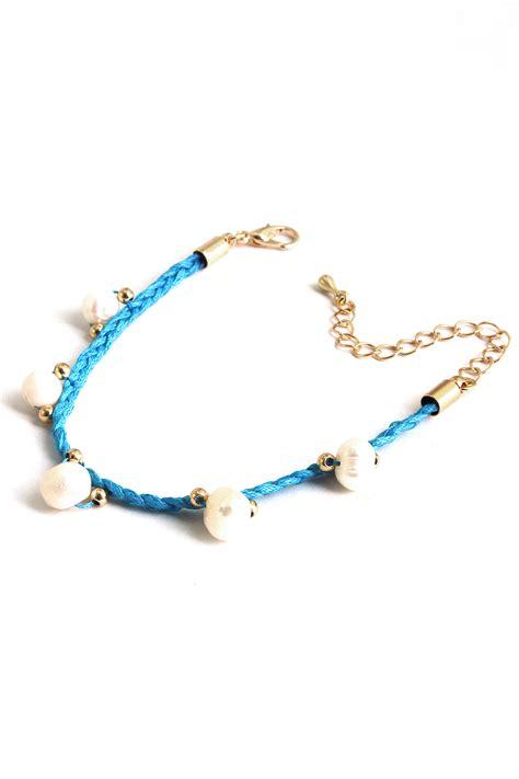 braiding jewelry braided pearl bracelet bracelets