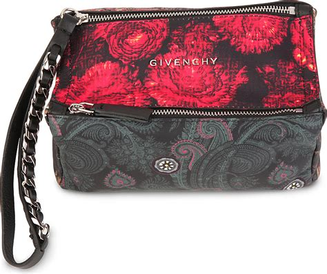 Fivency Flower Pouch givenchy pandora flower pouch in flower prnt lyst