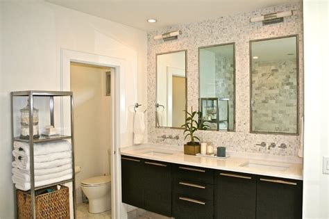 mid century modern master bathroom mid century ranch master bath midcentury bathroom atlanta by sean key design