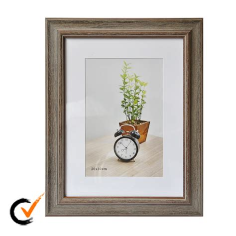 20x30 Matted Picture Frame by 20x30 Light Brown Matted Wooden Frame Photo Frame Buy