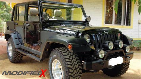 mahindra jeep modified mahindra armada to jeep wrangler conversion modifiedx