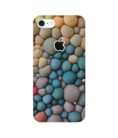 Casing Xperia M5 M5 Dual Colorful Apple Logo Custom Hardcase Cover colorful stones phone for iphone 7 apple cut chakri