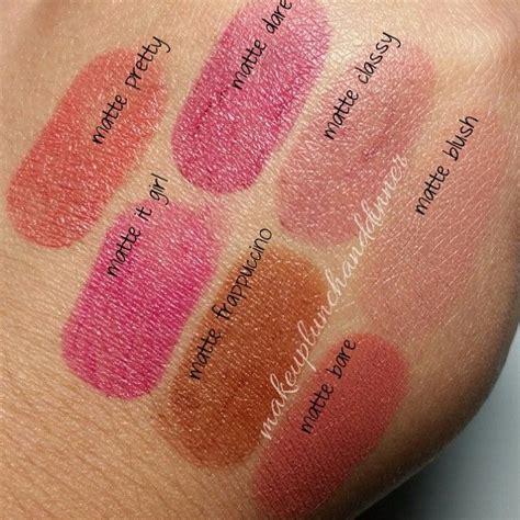 Lipstik Jordana Modern Matte jordana modern matte makeup junkie lipstick swatches matte lipsticks and swatch