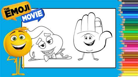 film avec des emoji coloring poop emoji the emoji movie coloring book page