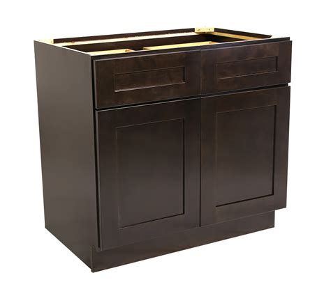 36 base cabinet brookings 36 quot base cabinet espresso shaker 561993