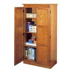 concepts in wood storage cabinet 60 h x 32 w x 17 d american red oak by office depot officemax - concepts in wood multi purpose storage cabinet 206547 office at sportsman s guide