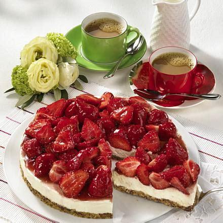 Erdbeer Mascarpone Kuchen Ohne Backen Rezept Lecker