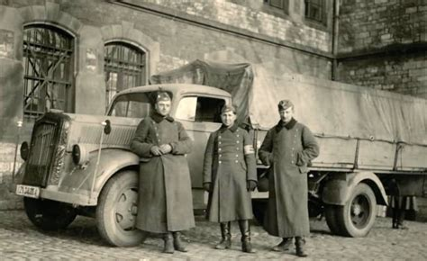 opel truck ww2 wehrmacht truck opel blitz lkw world war photos