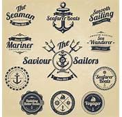 Vintage Navigation Label Vector 02  Free Download