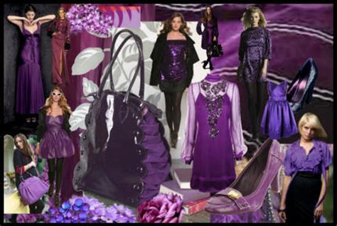 Fashion Find Purple Accessory For Fall 2006 by Fashion Colour Mood Boards Fall 2007 Winter 2008 Colour
