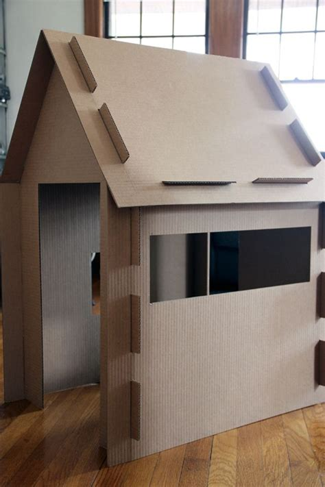 cardboard house 5 cool things to make at home with cardboard petit small