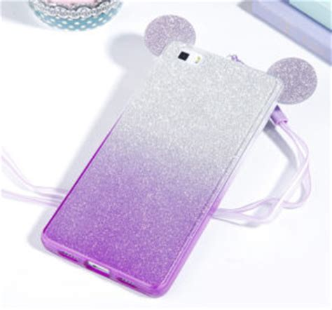 Mickey Mouse Y1593 Casing Redmi 4a Print 3d capa minnie mickey gradiente brilhantes huawei p8 p8 lite the cases market