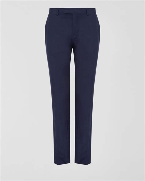 Insight T Shirt Premium Quality lyst jaeger silk linen trousers in blue for