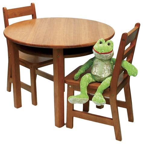 kids table and bench set pecan round kids table chair set modern kids tables and