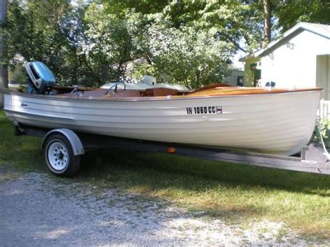 wooden boat auction 1954 lyman wooden boat strawser auction group