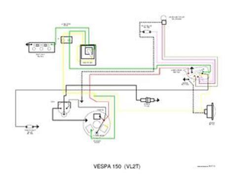 vespa vnb wiring diagram lambretta light switch wiring