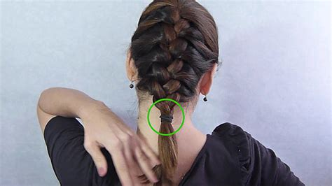 big french braids with swoop je haar vlechten wikihow