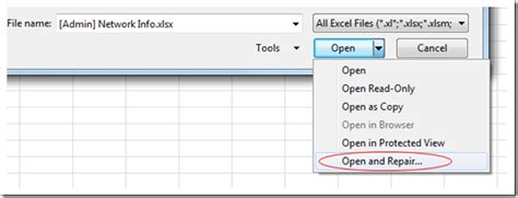 file format not valid excel how to repair a corrupted excel spreadsheet kc s blog