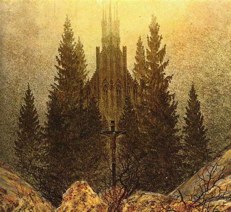 Caspar David Friedrich Referat by Romantik Referat Galerie Quot Kreuz Auf Dem Berg Quot