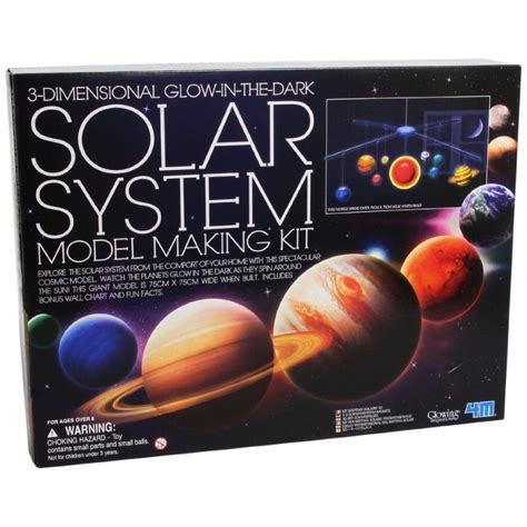 3d Solar System Kit 3d solar system model kit raff and friends