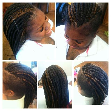 shaved head with braids 17 best images about box braids shaved sides on