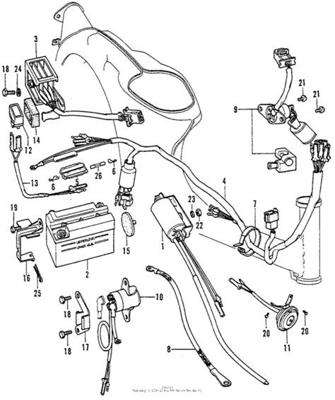 c70 wiring diagram honda ct70 wiring harness