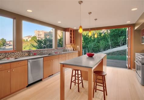 Honey Colored Kitchen Cabinets by Light Or Dark Wood Flooring Which One Suits Your Home