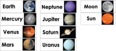 Solar System Wall Stickers space and astronauts preschool activities lessons games