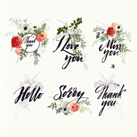 images of designs floral letterinig designs vector free download