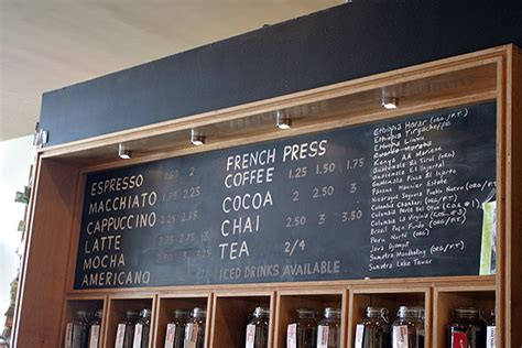 local coffee shop chalkboard menu almost too neat web 2 0 expo photo wrapup brainfuel