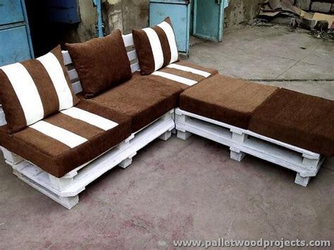 wooden sectional sofa pallet patio sectional sofa plans pallet wood projects