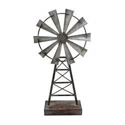Foreside Home Decor Foreside Home Garden Windmill Table Decor Small