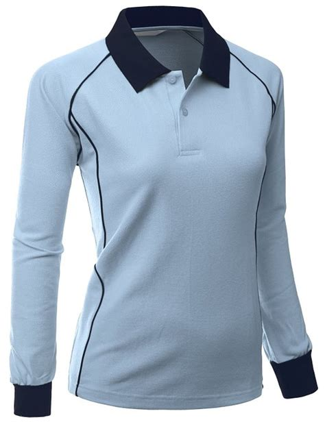 Sleeve Baju Sport Kaos Olah Raga Wanita xpril womens luxurious pk sleeve golf polo shirts