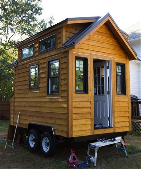 metal tiny house tinier living gets a metal roof tiny house construction