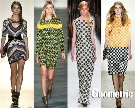 geometric pattern in fashion spring 2013 new york fashion week trends geometric