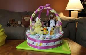 diaper cake basket how to make youtube
