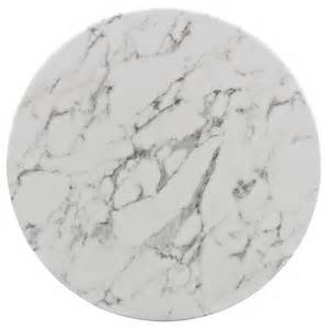 Round Benches Brilliant White Marble Table Modern Furniture Brickell