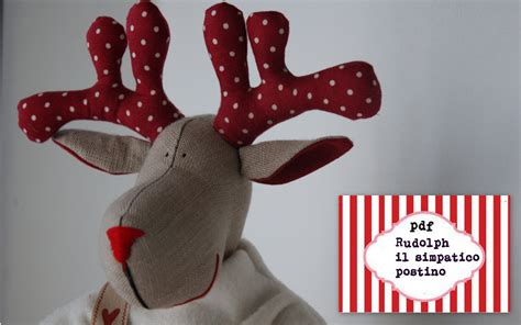 christmas reindeers pattern pdf sewing pattern for a