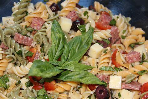 zesty italian pasta salad yellow bliss road italian macaroni salad recipe dishmaps