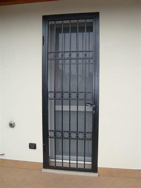 porta inferriata porte inferriate in ferro battuto