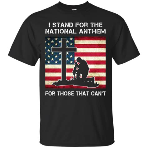Tahirt Anthem i stand for the national anthem shirt hoodie tank