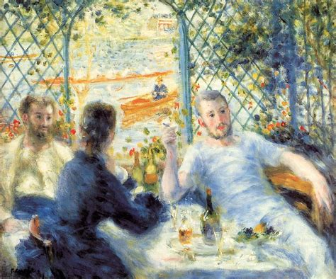 facts about luncheon of the boating party lunch at the restaurant fournaise by pierre auguste renoir