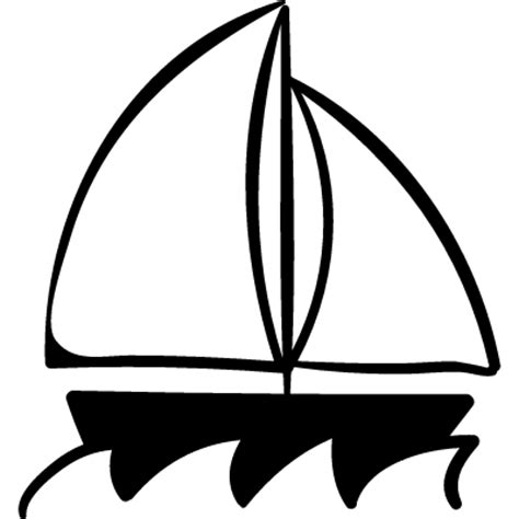 sailboat icon free vector sailboat free vectors logos icons and photos downloads