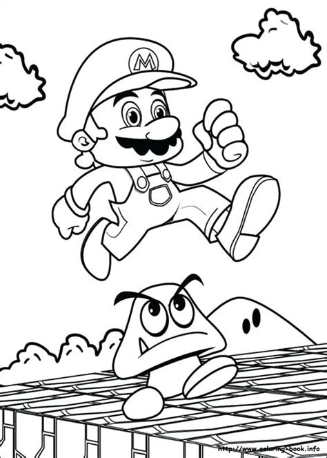 mario maker coloring page printable mario coloring pages bros pictur on how to draw